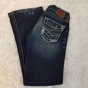BKE Denim Madison size 25x31 dark wash jeans